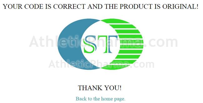 Подтверждение оригинальности пептидов St Biotechnology Co